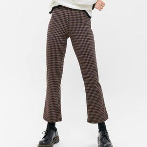 URBAN OUTFITERS CARA HIGH WAIST KICK FLARE PANTS